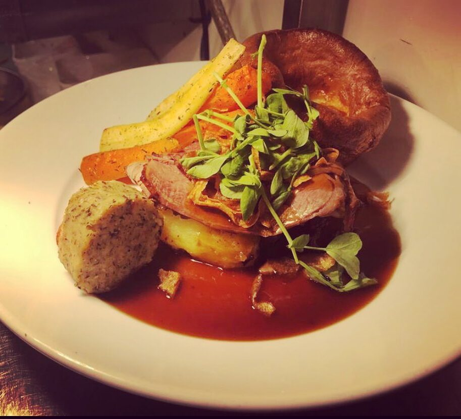 Sunday Roasts Wednesday Roasts at the Barge Inn Battlesbridge