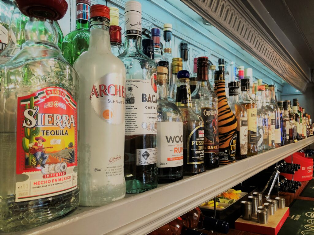 Bar at the Barge Inn Battlesbridge Essex