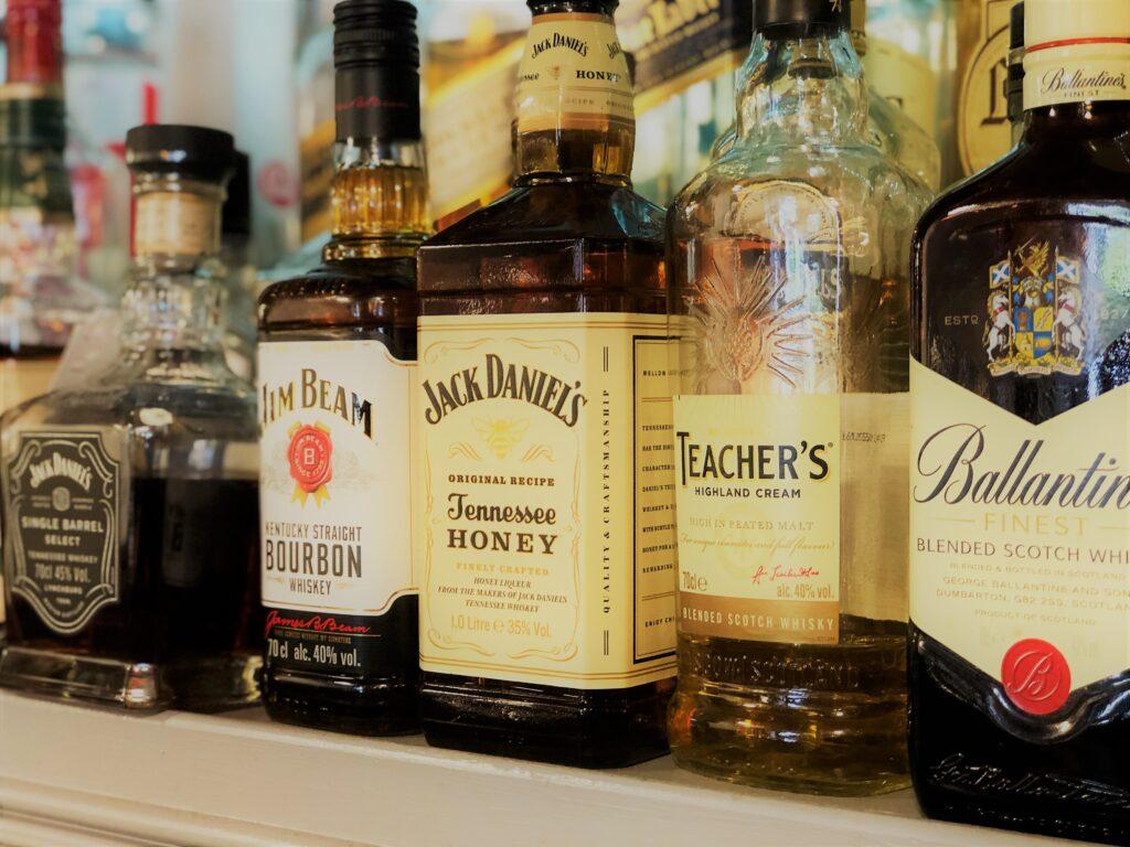 Whisky Bar at the Barge Inn Battlesbridge Essex